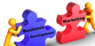 Business development is to marketing
